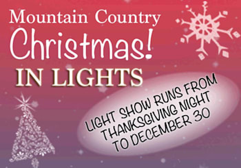 Mountain Country Christmas in Lights at the Fairgrounds in Hiawassee!
