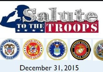 Salute to The Troops this New Years Eve in North Georgia at Brasstown Valley Resort in Hiawassee, GA