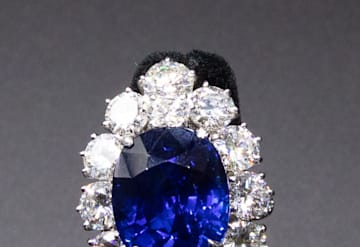 Just Listed: Van Cleef and Arpels Sapphire Diamond Ring