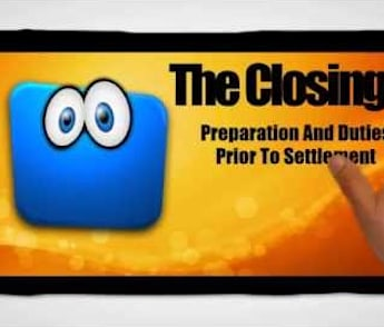 Escrow Closing: Preparation And Duties Prior to Settlement