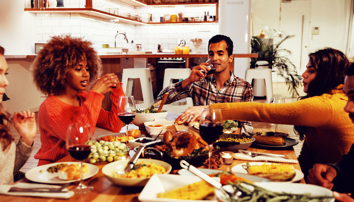 Celebrate Thanksgiving in Your New Home