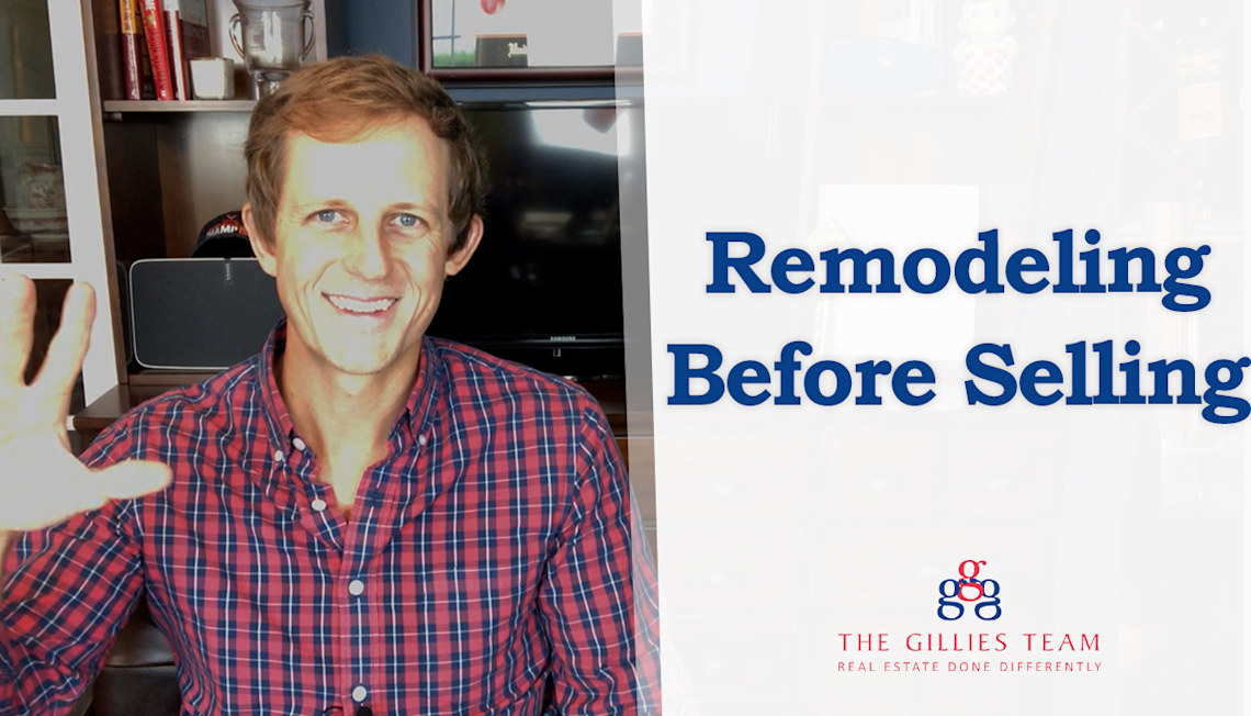 Which Remodeling Projects Should You Tackle Before Selling?