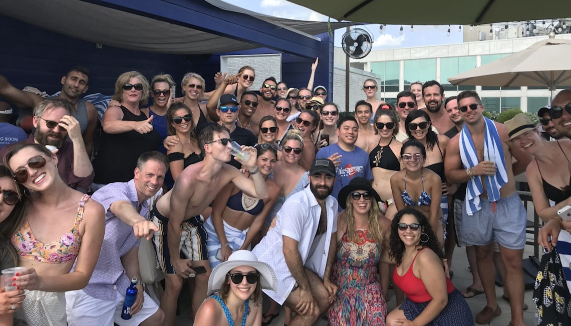 Make a Splash, Have a Drink, and Celebrate Amazing Growth – The Keri Shull Team Q2 Off-site Meeting