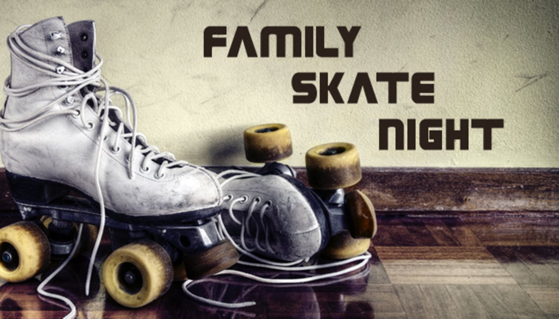 Family Skate Night In Arlington