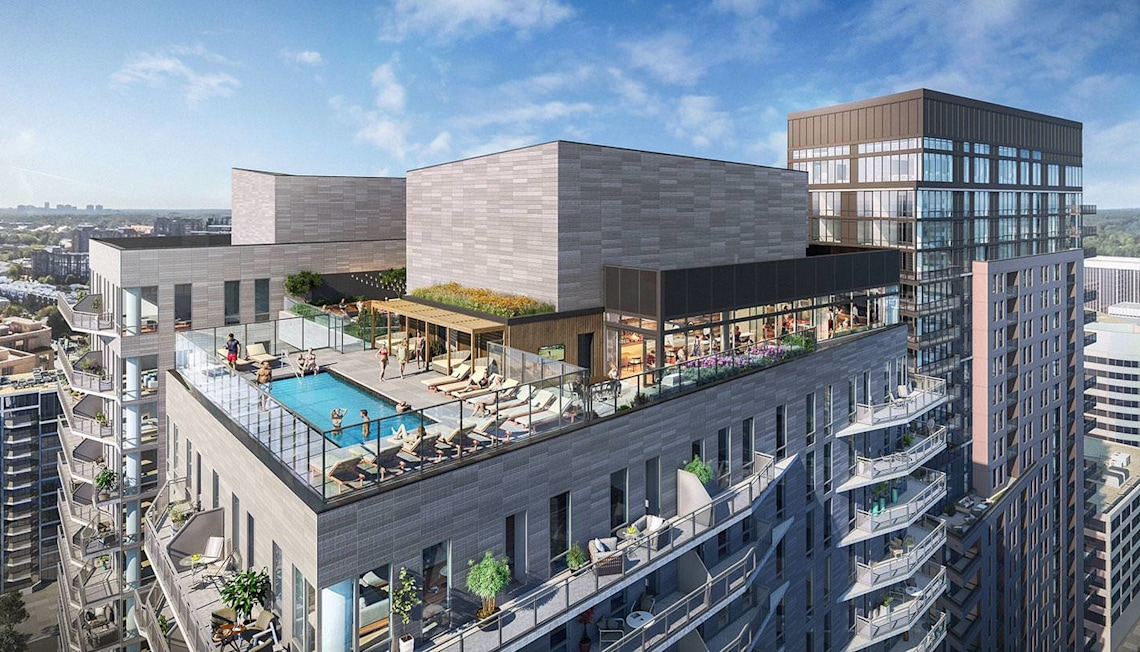 Early Details: New Condos With Awe-Inspiring Views at The Pierce in Rosslyn