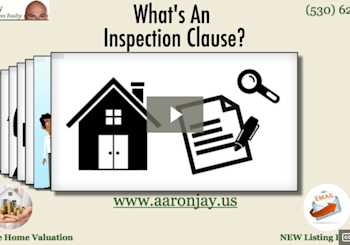 What Is An Inspection Clause or Inspection Contingency Video.