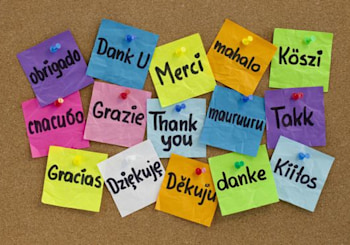Thank you- You make us better!