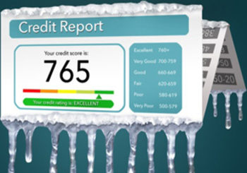 What is a credit freeze?
