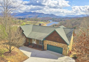JUST LISTED!!!  2 Level Craftsman Style Mountain and Lake View Home in Hiawassee, GA