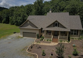 JUST LISTED! Private 2 Level Luxury Mountain Home on Coopers Creek with 4.05 Acres is Incredible!