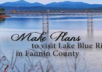 Make Plans To Visit Lake Blue Ridge in Fannin County!