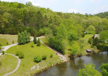 JUST LISTED! Toccoa River Front Lot…Ready to Build Your Mountain Home