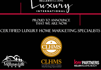 Proud To Be….Certified Luxury Home Marketing Specialist!