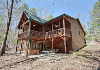 Mountain Cabin SOLD! SOLD! SOLD! 136 Shepherds Way Morganton, GA!