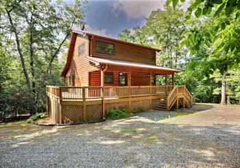 JUST LISTED! 1850 WITS END WAY BLUE RIDGE, GA!