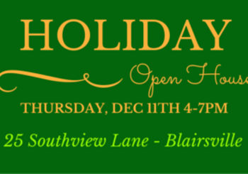 Holiday Open House TODAY!  25 Southview Lane – Blairsville