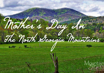 Spend Mother's Day in Our the Georgia Mountains!