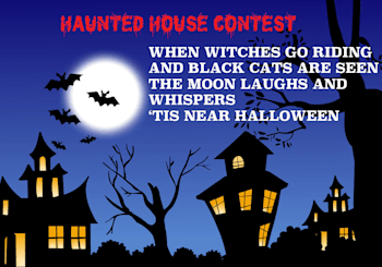 Haunted House Contest