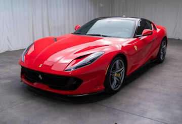 Just Listed: 2018 Ferrari 812 Superfast