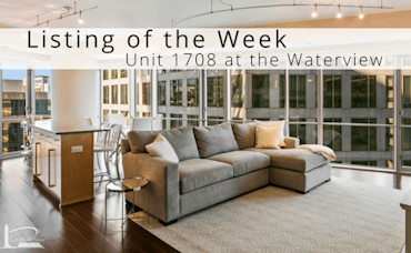 Listing of the Week: Unit #1708 at the Waterview