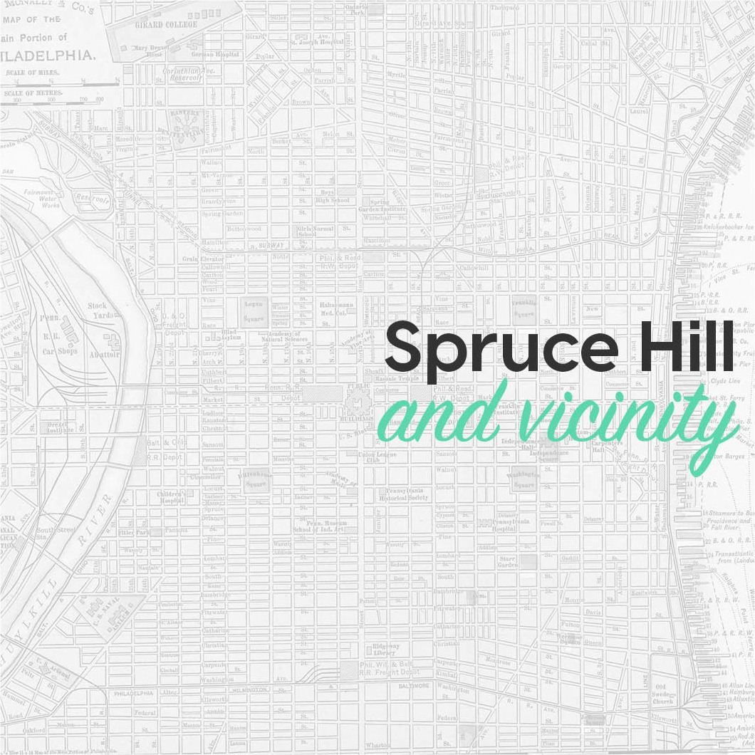 Spruce Hill and vicinity
