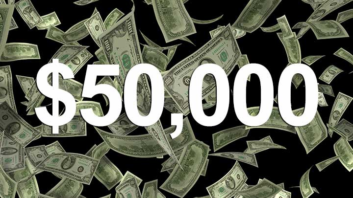 Gerber contest $50,000 cash reward.