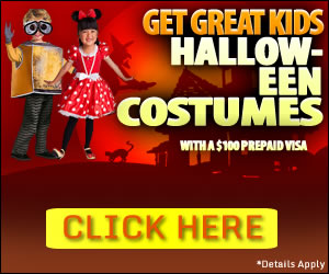 kids Halloween costomes ad