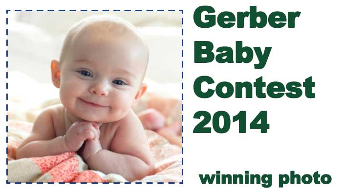 Grace the 2014 Gerber baby contest winner