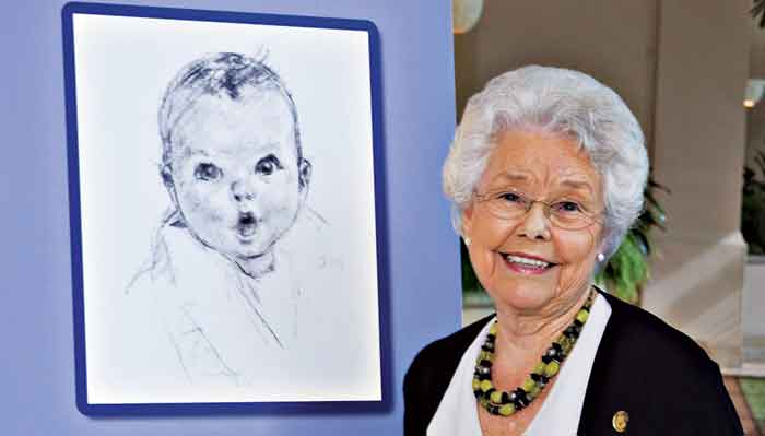 Who was the original Gerber baby?
