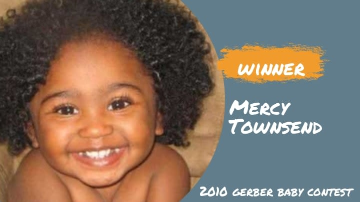 2010 Gerber Baby - Mercy Townsend