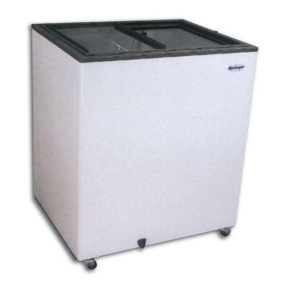 Congelador horizontal tapa vidrio 110 lts