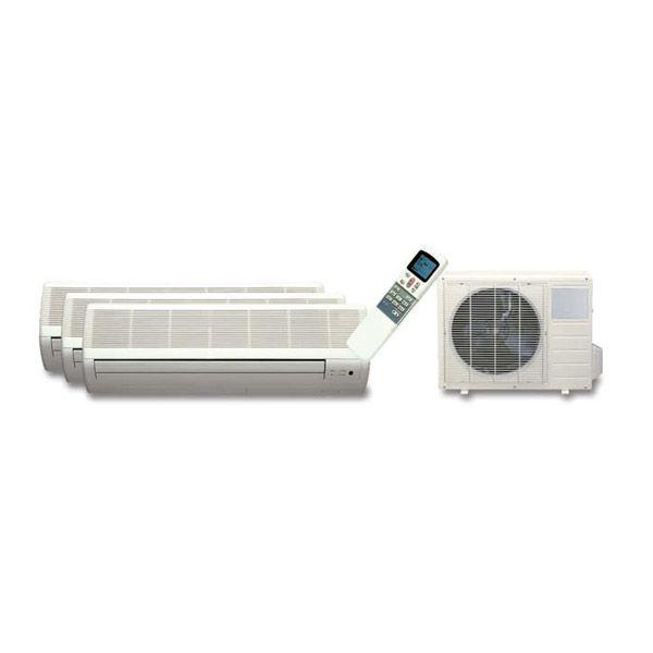 Aire acondicionado multisplit, 1 x 9.000 + 1 x 12.000 Btu