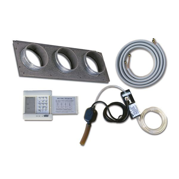 Kit cañería aire acondicionado 12.000 a 18.000 Btu/h