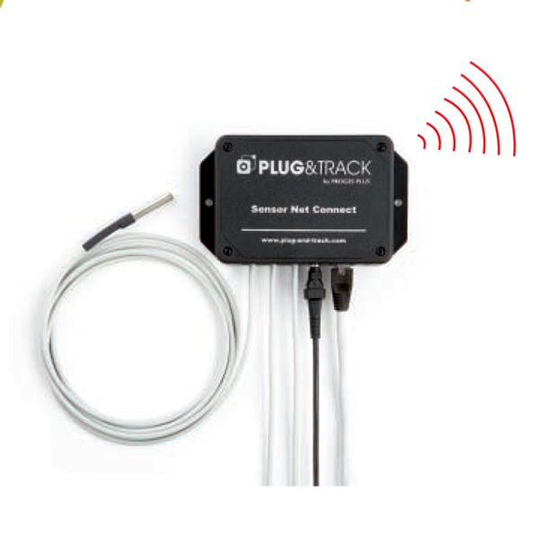 Plug & track de Proges Plus Monitoreo de Temperatura