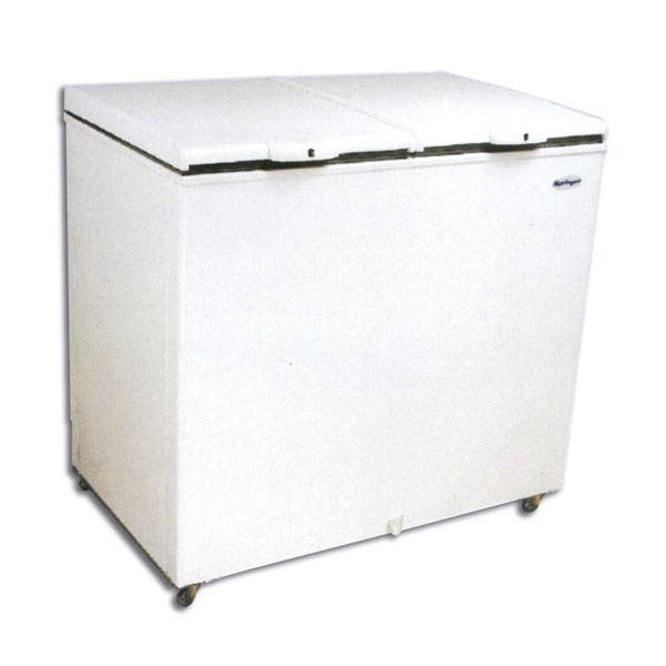 Congelador horizontal tapa ciega 450 lts dual