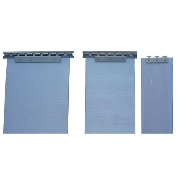 Soporte acero inoxidable 100 cms para cortina de lamas