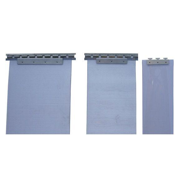 Colgadores acero inoxidable para cortinas de lama 200 mm