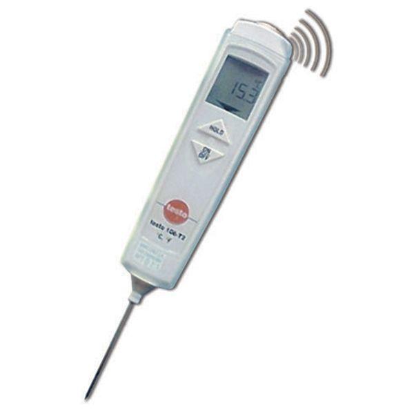 Termómetro infrarojo y de pincho T 826-04 Testo