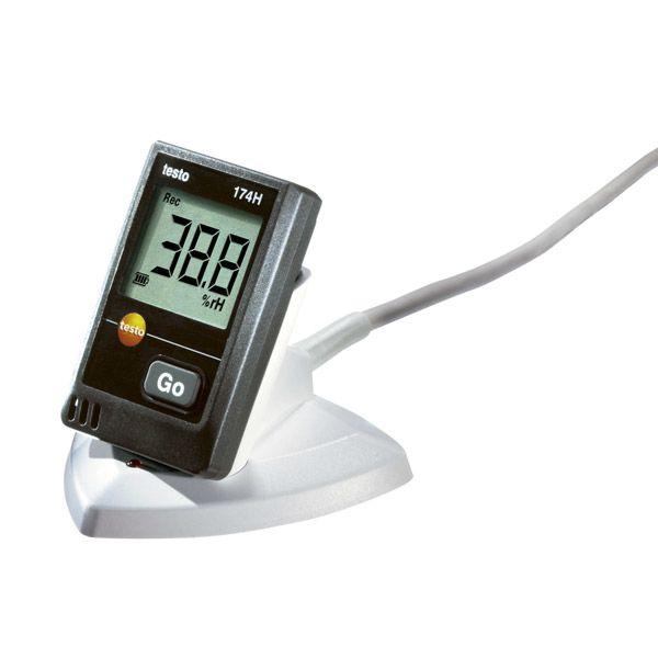 Kit termógrafo mini T 174 H Testo
