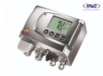 Testo 6381 - Transmisor de presión diferencial para el cálculo de flujos