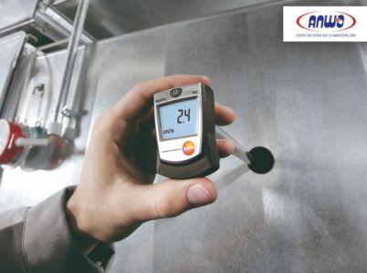 TESTO 405 - Anemómetro térmico de bolsillo
