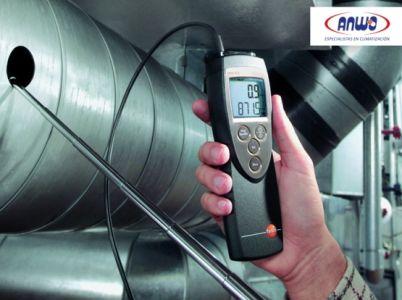 TESTO 425 -  Anemómetro con sonda térmica de velocidad