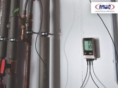 TESTO 176 T4 - Registrador de temperatura con cuatro salidas (termocuplas)