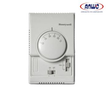 TERMOSTATO PARA FAN COIL HONEYWELL, CHANGE AUTOMÁTICO, 4T