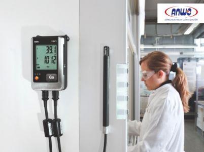 Testo 176 P1 - Datalogger de presión (+60 ... +1100 mbar)