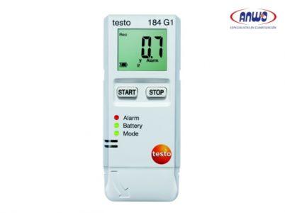 TESTO 184 G1 - Registrador de temperatura, humedad y vibraciones