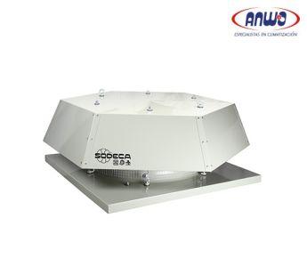 EXTRACTOR AXIAL TEJADO HELICE POLIAMIDA 6 REFORZADA T° MAX TRANSP 60°C 71dB(A) 0,09KW 380V IP-55