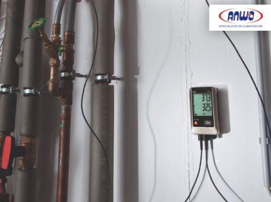 TESTO 176 T4 - Registrador de temperatura con cuat