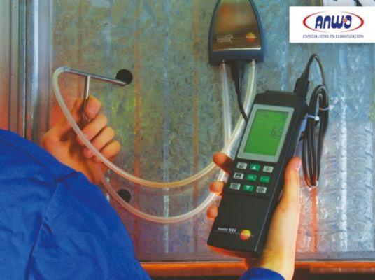 TESTO 521 Manómetro de presión de alta ( 0 ...30 bar)