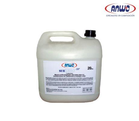 FLUIDO ANTICONGELANTE  SUBZERO -10ºC / (AL 30%) BIDON DE 20LTS